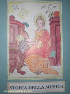 santa cecilia lapbook