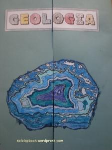 copertina lapbook geologia
